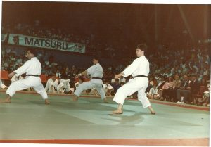 K.U.G.B Nationals 1986 Kanku Sho. Andy Jimmy and Mevlot in their younger days. 3rd place